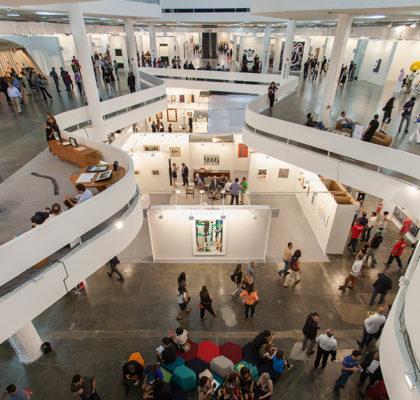 SP-Arte 2018 acontece de 11 e 15 de abril    Créditos: Divulgação