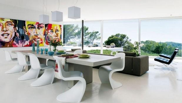 Cadeira Panton (Publicação: Casa Vogue)